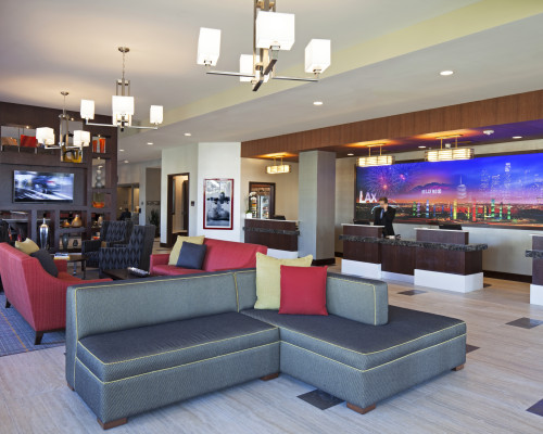 Residence Inn By Marriott LAX – Front Desk And Lobby